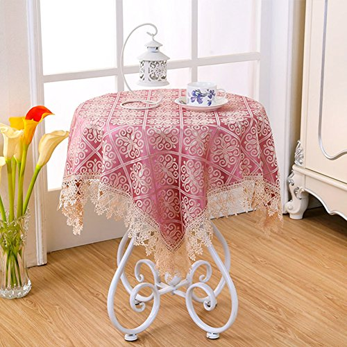 TRE countryside small round lace tablecloth/Bedside table cloth/table cloth faric/ oblong table cloth/ table cloth-F 100x150cm(39x59inch) ()