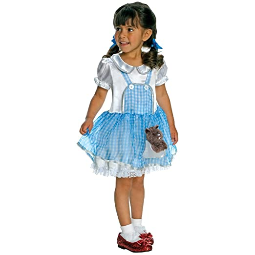 Wizard Of Oz Dorothy Child Costume Size Toddler  sc 1 st  Amazon.com & Amazon.com: Wizard Of Oz Dorothy Child Costume Size: Toddler: Clothing