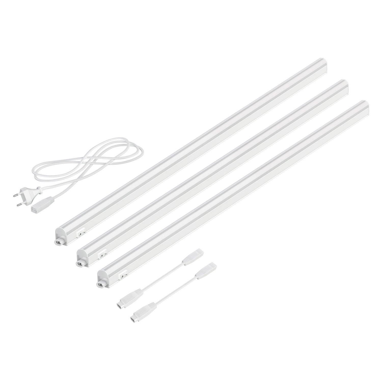 parlat LC-L-054-W A+, Unterbauleuchte, 800 lumen, 11 W, einzeln / weiß , 87.3 x 2.8 x 3 cm LEDs Com GmbH