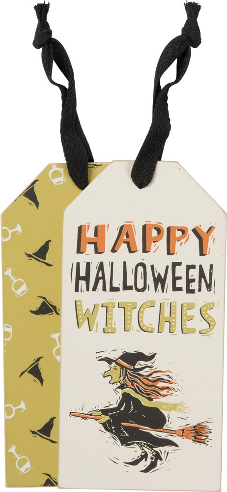 Bottle Tag - Happy Halloween, Set of 3