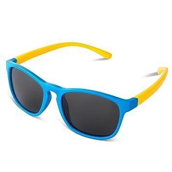RIVBOS rbk891 goma flexible niños polarizadas gafas de sol edad para bebé y niños 3 –