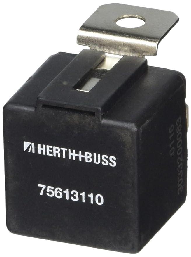 Jakoparts 75613110 Relais Arbeitsstrom Schliesser 12 V//30 A