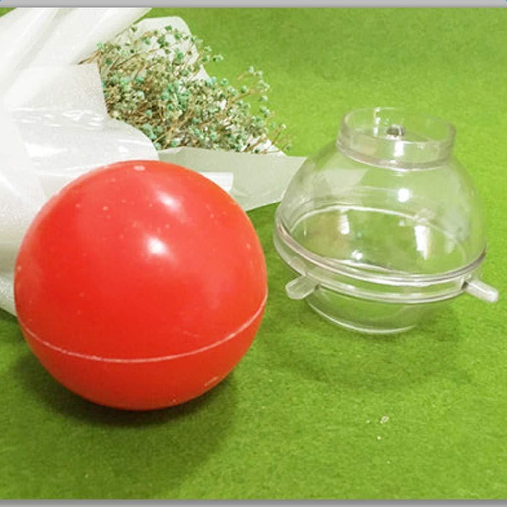 Molde redondo para velas de jabón, diseño de bola de 2,5 a ...