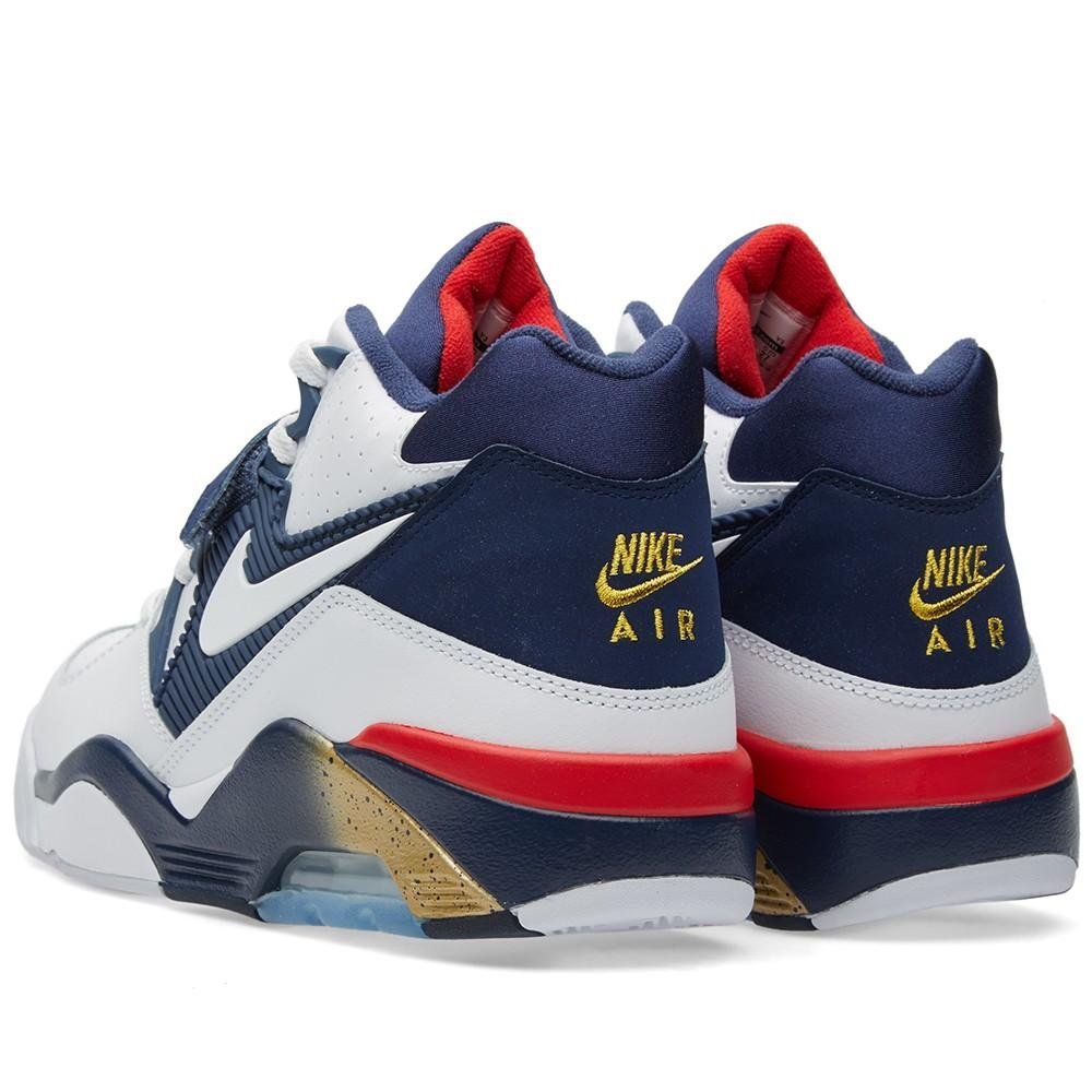 check out fc907 929a5 Amazon.com  Nike Air Force 180 Mens Sneaker  Basketball