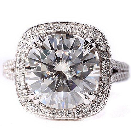 5 carat diamond ring - 1