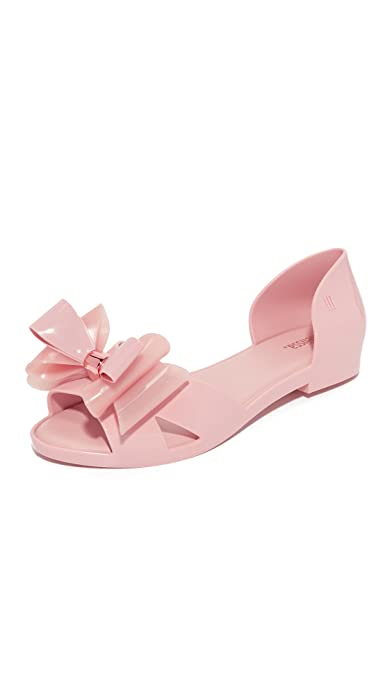 Sandalos Melissa Donna Seduction Peep Toe Flats   Sandalos  cb23c1