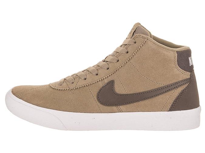 NIKE Damen SB Bruin Hallo Skate Schuh 7 US 4.5 UK Khaki