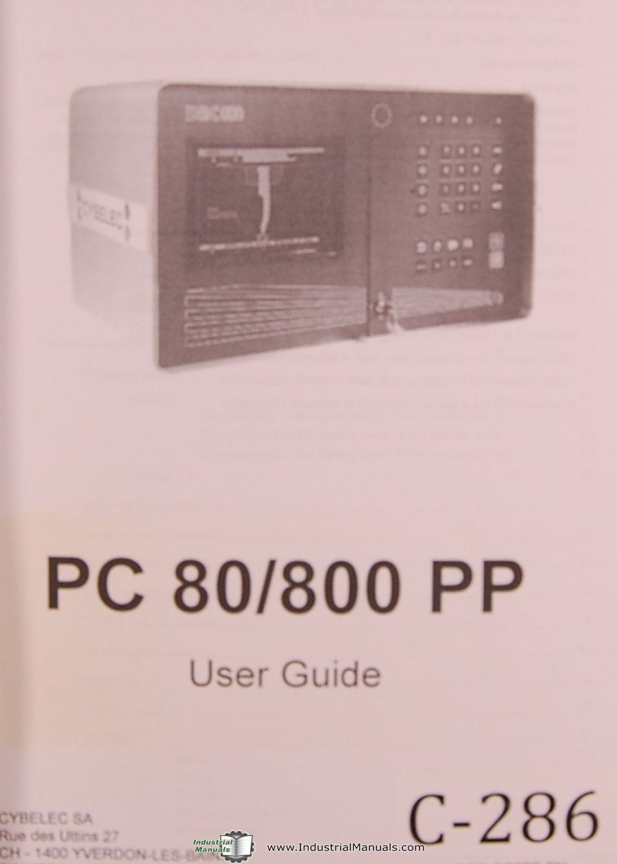 cybelec pc 80 800 pp users guide pc 80 800 900 2d reference rh amazon com