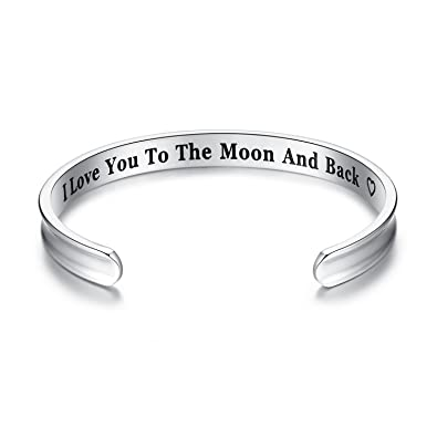 sterling silver i love forever you charles shop today black bracelets krypell bangle bangles tomorrow