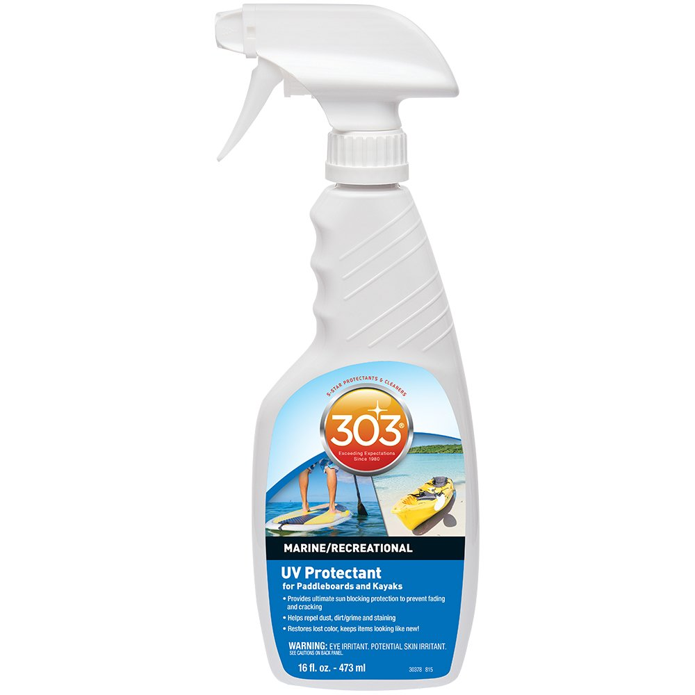 303 (30378) UV Protectant for Paddleboards and Kayaks, Prevents Fading and Cracking, 16 fl. Oz