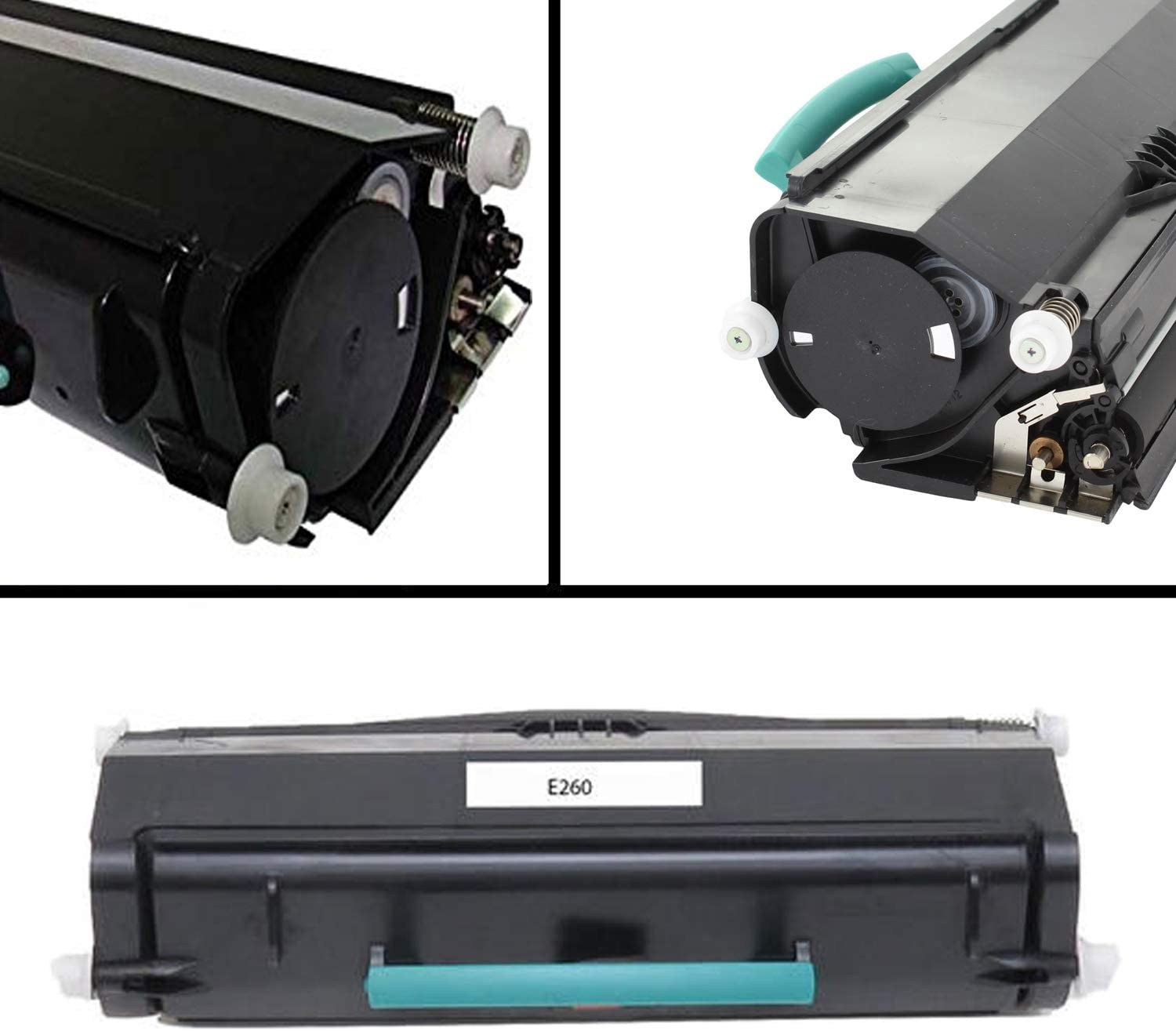 Awesometoner Remanufactured Made in USA Toner Cartridge Replacement for Lexmark E260A21A MICR use with E260 E360 E460 Black, 3-Pack