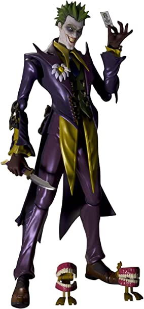 Boneco Coringa Bandai Tamashii Nations S.H.Figuarts Joker Injustice Action Figure