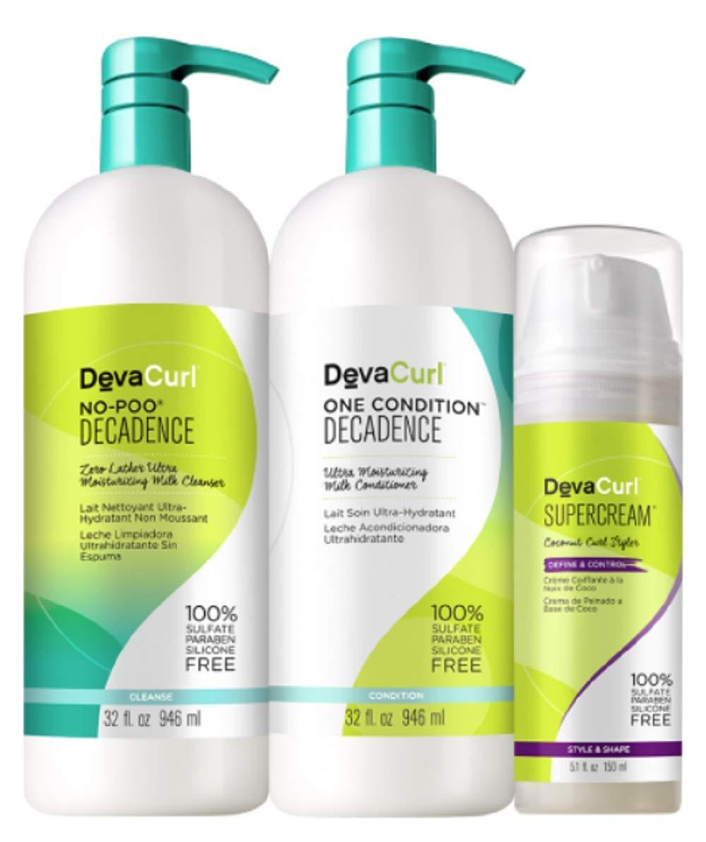 DevaCurl Bigger Better Basics - Super Curly Care Kit