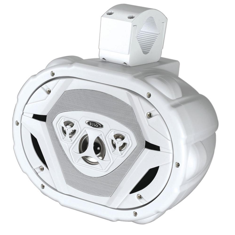 BOSS Audio MRWT69W 550 Watt, 6 x 9 Inch, Full Range, 4 Way, Weatherproof, Marine Grade Roll Cage/Waketower Speaker System (Sold Individually)