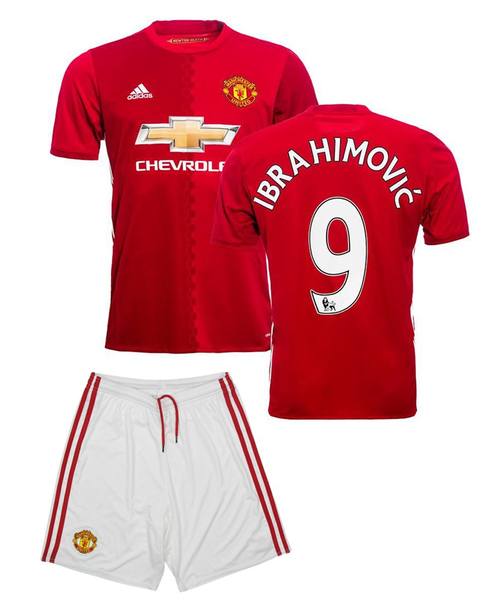new product 471bc 47bd5 Amazon.com: 2016-17 MANCHESTER UNITED HOME ZLATAN ...