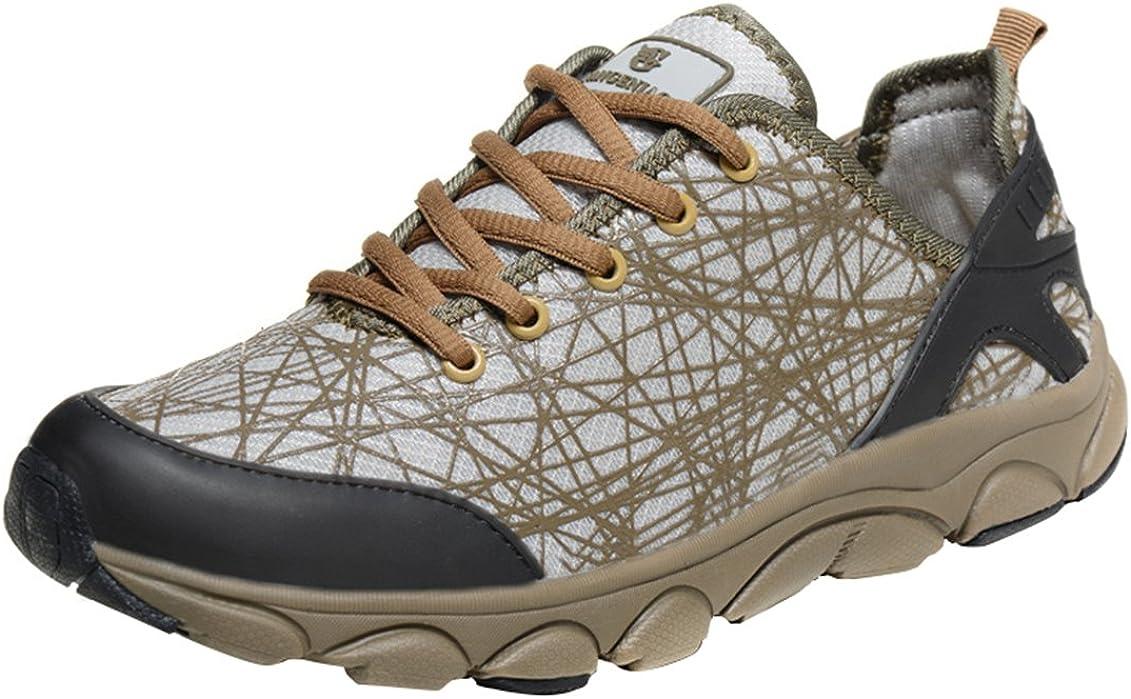 SK Studio Mens Multifunctional Lace Up Hiking Shoe