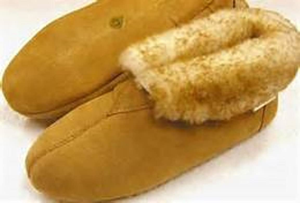 Men's Sheepskin Soft Sole Bootie