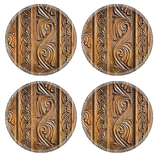 liili-natural-rubber-round-coasters-image-id-39228421-abstract-floral-decoration-carved-on-a-wood-do