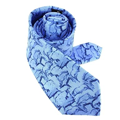 Brochier Soieries 1890 - Corbata de seda, color azul: Amazon.es ...