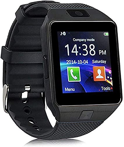 Qiufeng DZ09 Smart Watch Smartwatch Bluetooth Touchscreen Sweatproof Phone with Camera TF/SIM Card Slot for Android and iPhone Smartphones for Kids ...