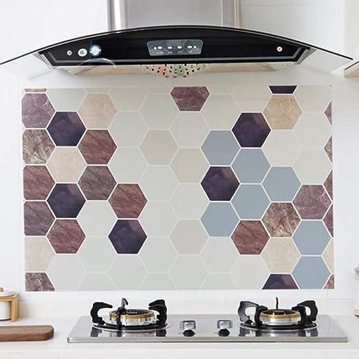 Sweetstore - Mueble de Cocina con Rollo de Papel Gris para el hogar, de PVC Grueso e Impermeable, fácil de Quitar sin Dejar Marcas: Amazon.es: Juguetes y juegos