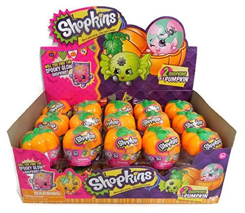 Shopkins Exclusive Halloween Surprise 2-Pack with Pumpkin Carrier - Set of -