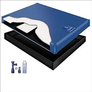 60% WAVELESS WATERBED Mattress/Liner/Fill Drain/Conditioner KIT (California King 72x84 1G4S1)
