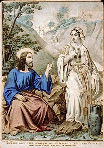 1835-photo-christ-and-the-woman-of-samaria-at-jacobs-well-jesus-christ-sentretient-avec-la-samaritai
