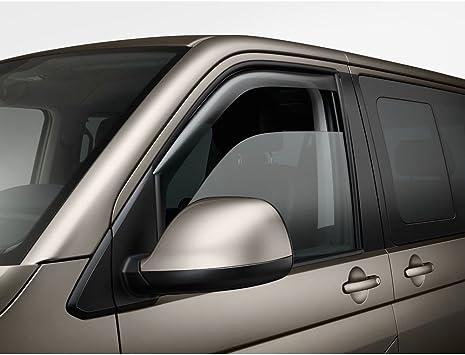 Volkswagen 7e0072193 Hu3 Windabweiser Türen Vorn Rechts Links Acrylglas Rauchgrau Auto