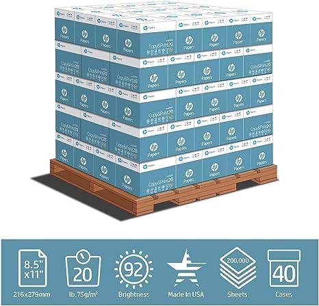Amazon.com: HP Copy and Print20 Papel de impresora, papel de ...