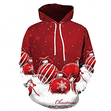 a8834d06fdc0 3D Christmas Snowflake Print Sweatshirt 3D Xmas Hoodie Party Blue Harajuku  Mens Clothing Casual Pullover 3D
