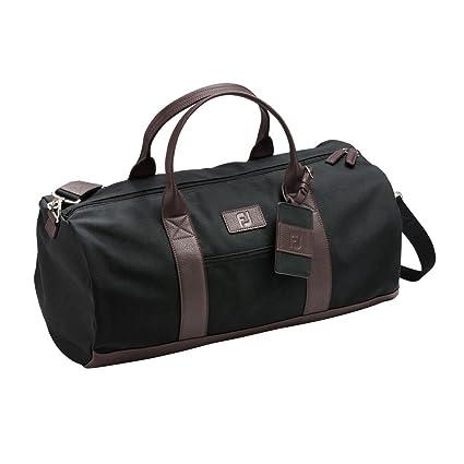 Amazon.com   FootJoy Canvas Duffel Golf Bag (Black)   Sports   Outdoors 25e9b44f267b9