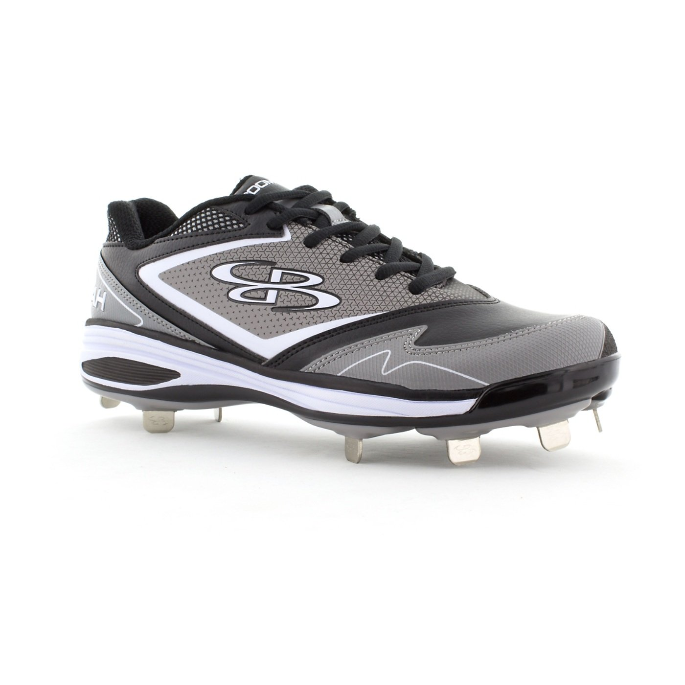 294d5af65f2 Amazon.com  Boombah Women s A-Game Metal Cleats - 6 Color Options -  Multiple Sizes  Sports   Outdoors
