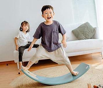 Amazon.com: Wooden Waldorf Balance Board Wobbel Balance ...