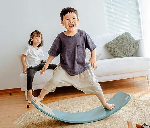 AINY Waldorf de Madera Balance Board Wobbel Balance Board ...