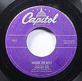 Armand Hug 45 RPM Huggin' the Keys / Dixie Rag