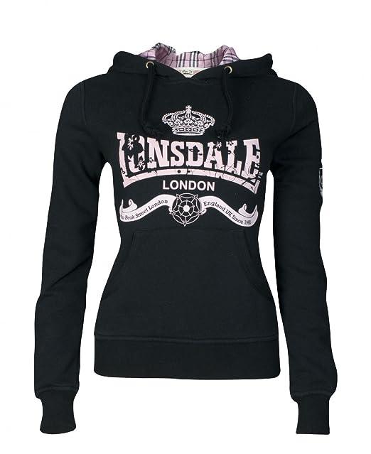 Lonsdale Sudadera con Capucha Amber Negro M: Amazon.es: Ropa y accesorios