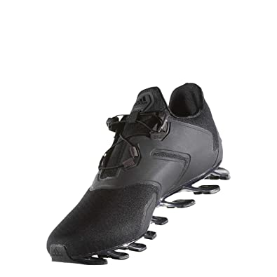 the best attitude dc2b0 22f1e adidas Springblade Solyce M, Chaussures de Running Homme - Noir - Noir (Noir  Essentiel