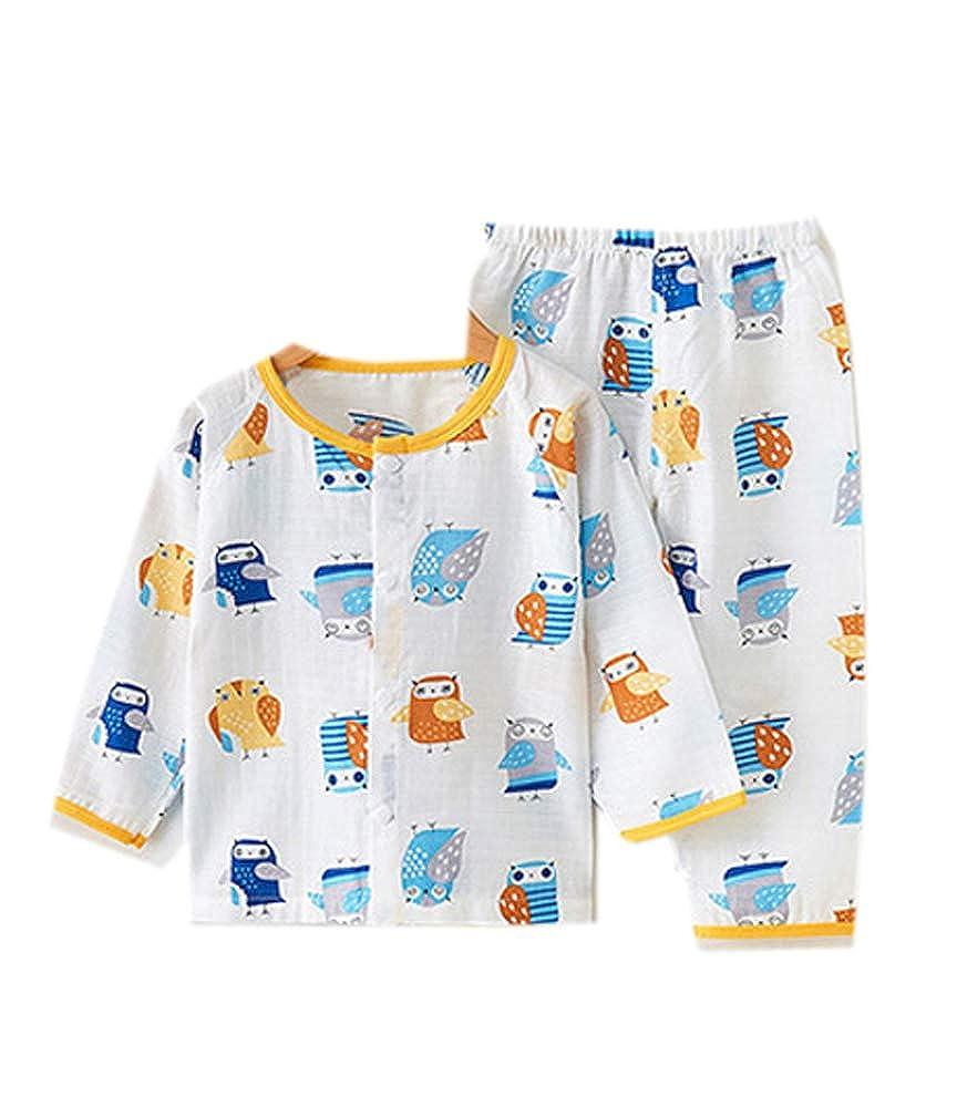Habigua Little Boys Girls Soft Cute Fruit Pajama Snug Fit Pjs Yellow