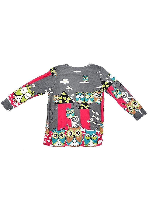 TOOGOO(R) Damen Maxi Lose Langarm Long shirt Casual Pulli Shirt Bluse  Longpullover Mini Kleid FD23: Amazon.de: Bekleidung