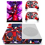 xbox one skins for console naruto - Vanknight Xbox One S Slim Console Remote Controllers Skin Set Vinyl Skin Decals Stciker Cover for Xbox One Slim (XB1 S) Console