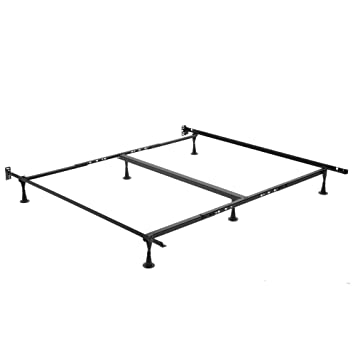 leggett and platt consumer products group deluxe promotional bed frame with glides queenking - Leggett And Platt Bed Frames