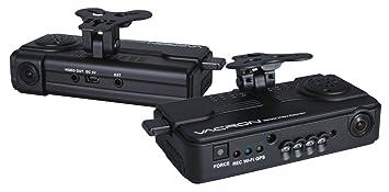 Coche Caja Negra/coche DVR grabador Vacron, doble canal (& dentro y fuera