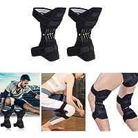 Zhoumin Spring Knee Booster para Escalada Montañismo Running Actividad al Aire Libre Tejido de Malla Transpirable Rodillera Rodilleras Protección común Rodilleras