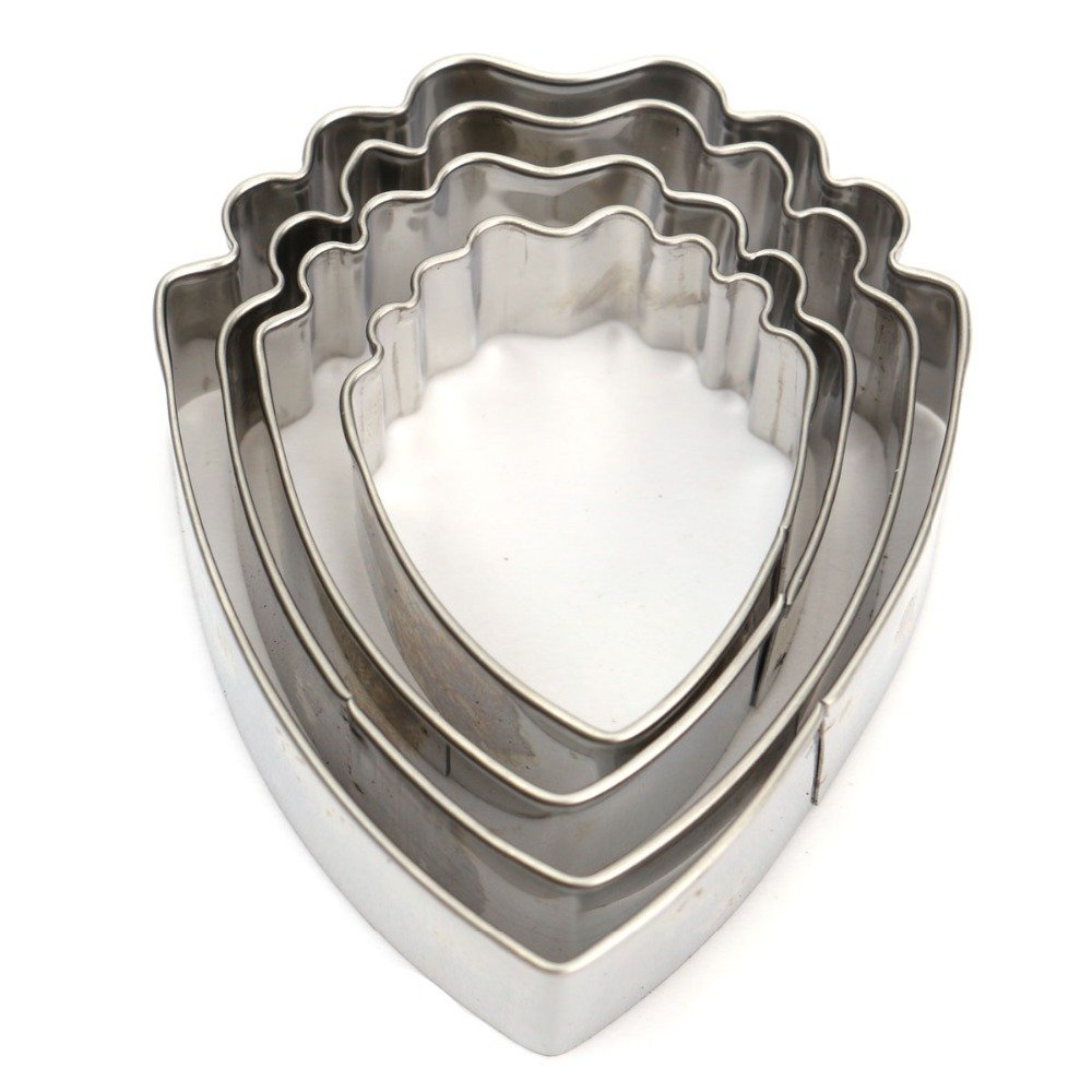 Peony Fondant Sugarcraft Stainless Steel Cutter Peony Petal Silicone Veiner & Cutter Flower Cutter Cake Decorating Moulds