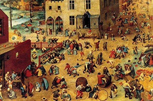 - Buyenlarge Children's Games by Pieter Bruegel The Elder Wall Decal, 24
