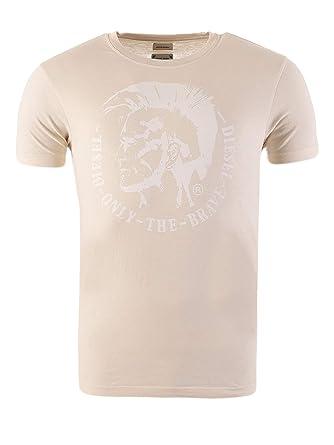 super popular f9c79 455f0 Diesel T-Shirt Herren Kurzarm T-Ulysse Indianer Kopf Only ...