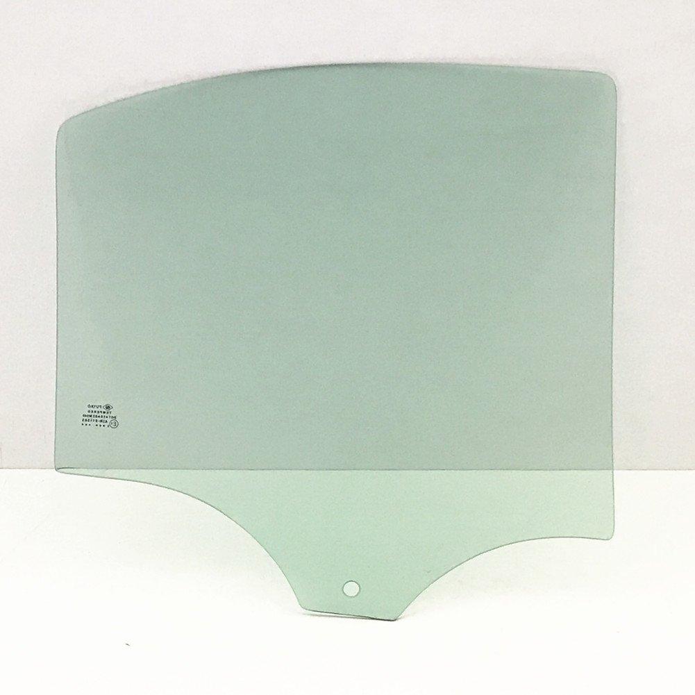 NAGD Passenger Right Side Rear Vent Window Vent Glass Compatible with Honda Civic 4 Door Sedan 2006-2011 Models