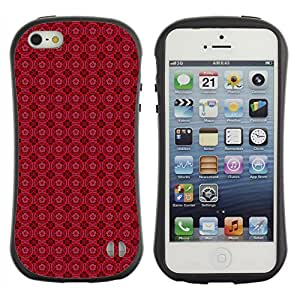 DesignCase Premium TPU / ABS Hybrid Back Case Cover Apple iPhone 5 / 5S ( amazing pattern )