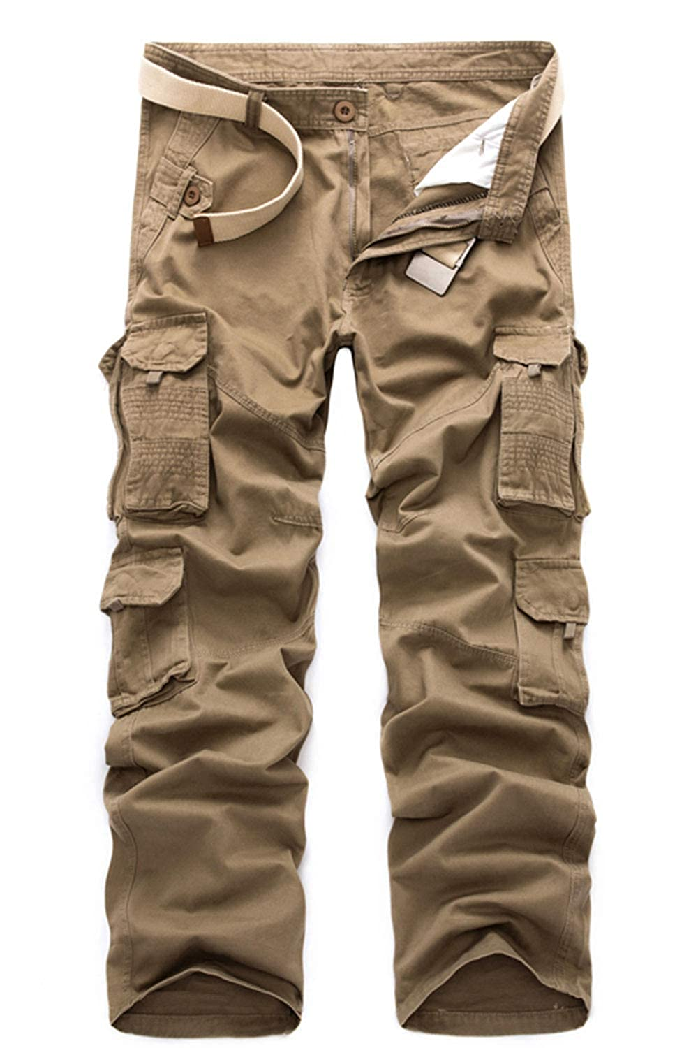 HSRKB Mens CAGO Pants Work Hiking Trousers Tactical Military Pants